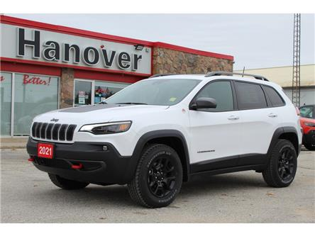 2021 Jeep Cherokee Trailhawk (Stk: 21-003) in Hanover - Image 1 of 18