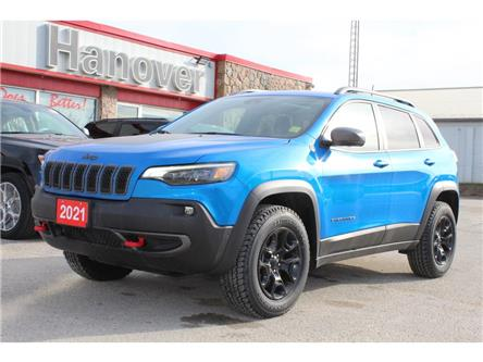 2021 Jeep Cherokee Trailhawk (Stk: 21-091) in Hanover - Image 1 of 20