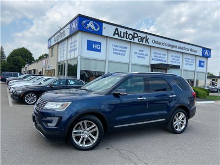 2017 Ford Explorer Limited (Stk: 17-81156) in Brampton - Image 1 of 31