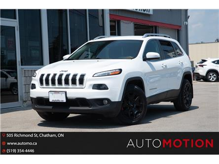 2016 Jeep Cherokee North (Stk: 211093) in Chatham - Image 1 of 26