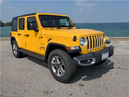 2020 Jeep Wrangler Unlimited Sahara (Stk: D0394) in Belle River - Image 1 of 15