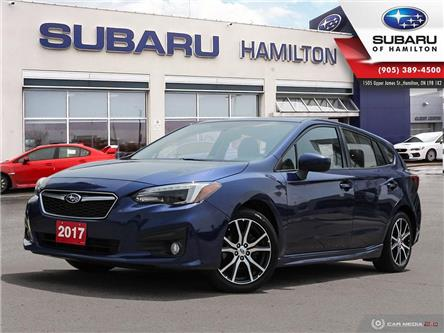2017 Subaru Impreza Sport (Stk: U1726) in Hamilton - Image 1 of 29