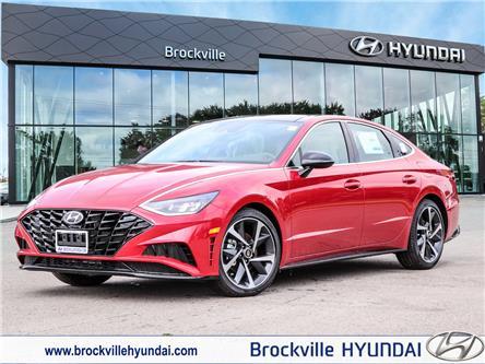 2021 Hyundai Sonata Sport (Stk: R21320) in Brockville - Image 1 of 23