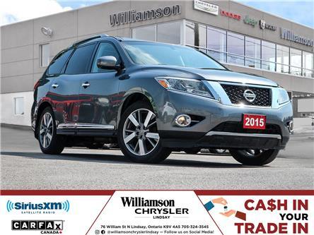 2015 Nissan Pathfinder Platinum (Stk: U1291) in Lindsay - Image 1 of 30