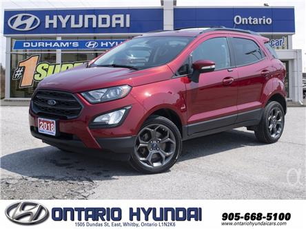2018 Ford EcoSport SES (Stk: 33156A) in Whitby - Image 1 of 22