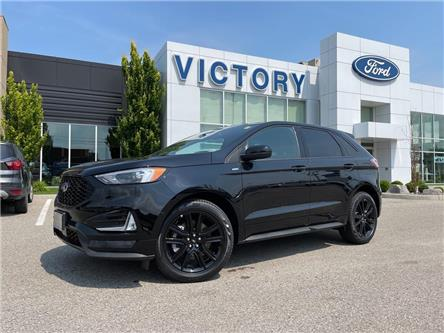 2021 Ford Edge ST Line (Stk: VEG20274) in Chatham - Image 1 of 21