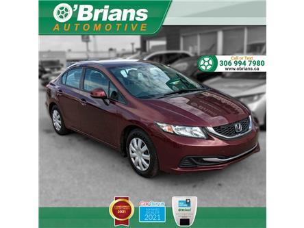 2013 Honda Civic LX (Stk: 14425B) in Saskatoon - Image 1 of 22
