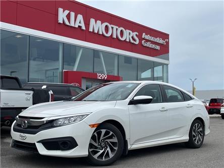 2018 Honda Civic EX (Stk: 11396A) in Gatineau - Image 1 of 18