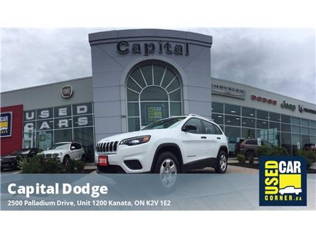 2019 Jeep Cherokee Sport (Stk: P3144A) in Kanata - Image 1 of 25