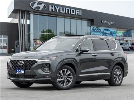 2020 Hyundai Santa Fe Luxury 2.0 (Stk: U1049) in Burlington - Image 1 of 24