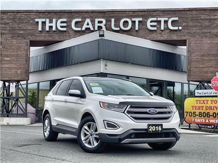 2016 Ford Edge SEL (Stk: 21375) in Sudbury - Image 1 of 28