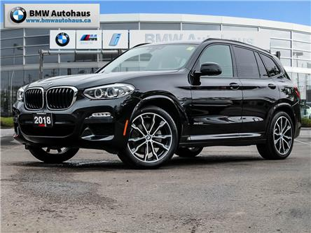 2018 BMW X3 xDrive30i (Stk: P10578) in Thornhill - Image 1 of 38