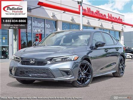 2022 Honda Civic Sedan Sport (Stk: 23378) in Greater Sudbury - Image 1 of 22