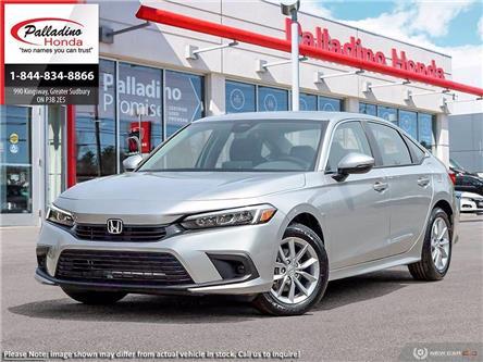 2022 Honda Civic EX (Stk: 23392) in Greater Sudbury - Image 1 of 23