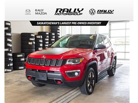 2017 Jeep Compass Trailhawk (Stk: V1598) in Prince Albert - Image 1 of 14