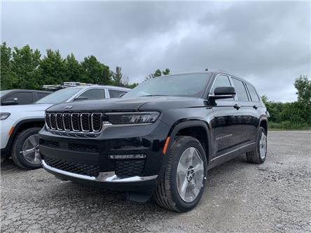 2021 Jeep Grand Cherokee L Limited (Stk: 107786) in Orillia - Image 1 of 4