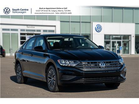 2021 Volkswagen Jetta Comfortline (Stk: 10334) in Calgary - Image 1 of 35