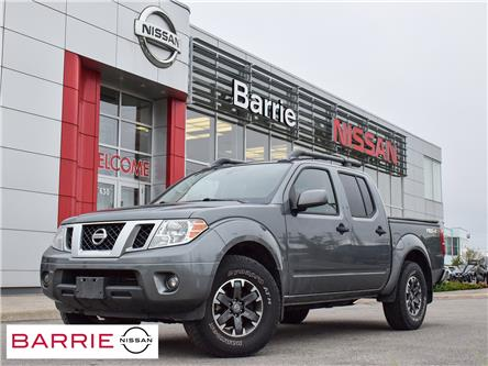 2018 Nissan Frontier PRO-4X (Stk: 21042A) in Barrie - Image 1 of 8