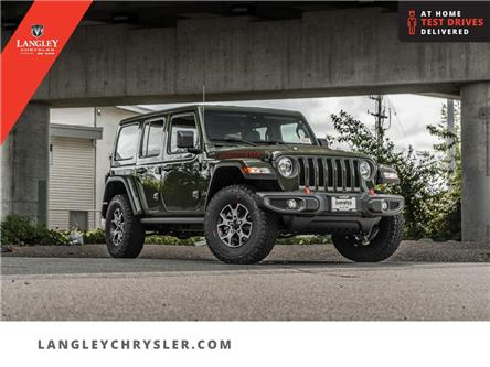2021 Jeep Wrangler Unlimited Rubicon (Stk: M764384) in Surrey - Image 1 of 26