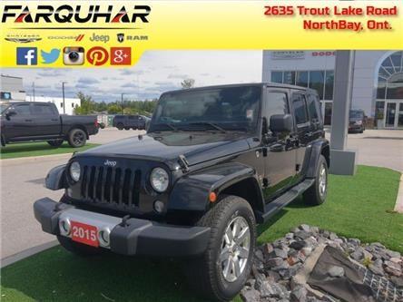 2015 Jeep Wrangler Unlimited Sahara (Stk: 21200B) in North Bay - Image 1 of 30
