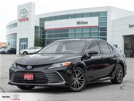 2021 Toyota Camry Hybrid XLE (Stk: 015364B) in Milton - Image 1 of 24