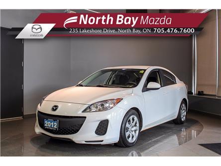 2012 Mazda Mazda3 GX (Stk: U6828) in North Bay - Image 1 of 22