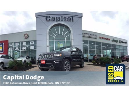 2017 Jeep Grand Cherokee Overland (Stk: M00331A) in Kanata - Image 1 of 28