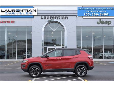 2018 Jeep Compass Trailhawk (Stk: BC0124A) in Greater Sudbury - Image 1 of 37
