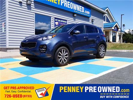 2017 Kia Sportage EX (Stk: A21030) in Mount Pearl - Image 1 of 17