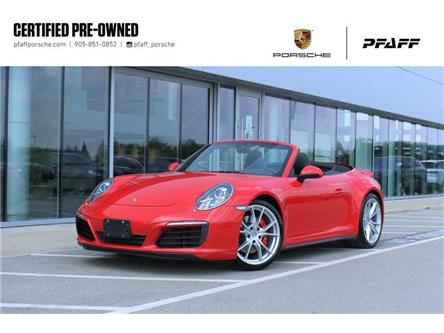 2017 Porsche 911 Carrera 4S Cabriolet (Stk: P17096A) in Vaughan - Image 1 of 30
