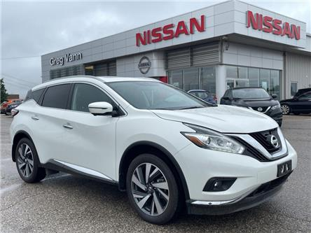 2018 Nissan Murano Platinum (Stk: Y0077A) in Cambridge - Image 1 of 30