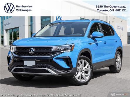 2022 Volkswagen Taos Comfortline (Stk: 98745) in Toronto - Image 1 of 23