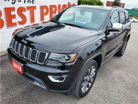 2018 Jeep Grand Cherokee Limited (Stk: 21-309) in Oshawa - Image 1 of 19