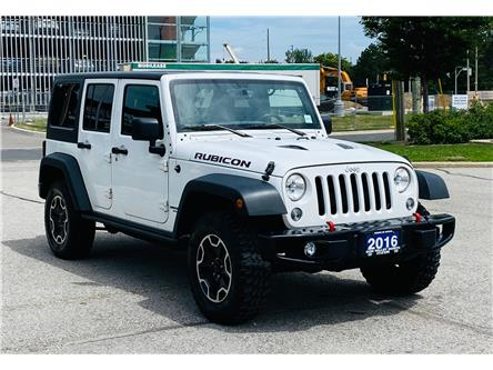 2016 Jeep Wrangler Unlimited Rubicon (Stk: 16100157A) in Markham - Image 1 of 16