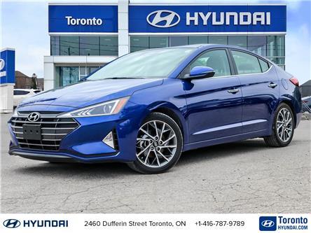 2019 Hyundai Elantra Luxury (Stk: U07218) in Toronto - Image 1 of 30