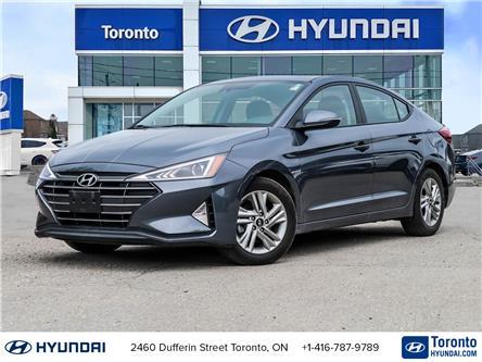 2020 Hyundai Elantra Preferred w/Sun & Safety Package (Stk: U07220) in Toronto - Image 1 of 30