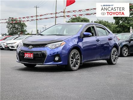 2015 Toyota Corolla  (Stk: 21228A) in Ancaster - Image 1 of 2