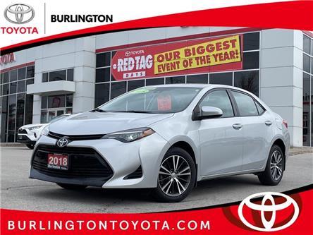 2018 Toyota Corolla LE (Stk: U11403) in Burlington - Image 1 of 16