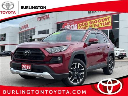 2019 Toyota RAV4 Trail (Stk: U11690) in Burlington - Image 1 of 20