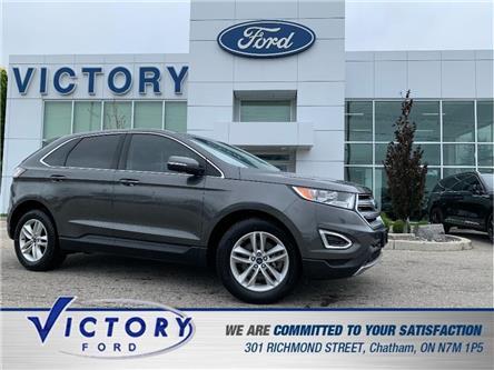 2018 Ford Edge SEL (Stk: V4031LB) in Chatham - Image 1 of 28
