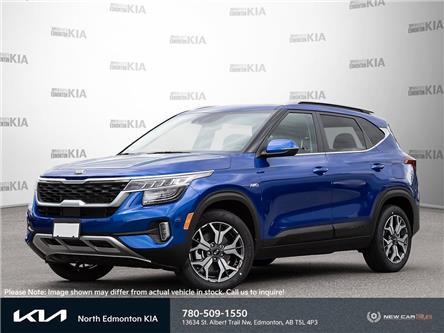 2022 Kia Seltos EX Premium (Stk: 22SE6092) in Edmonton - Image 1 of 23