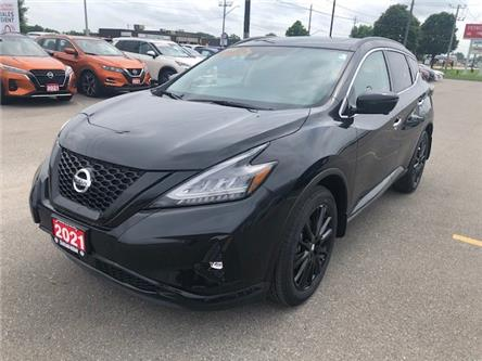 2021 Nissan Murano Midnight Edition (Stk: M0161) in Chatham - Image 1 of 26