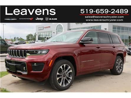 2021 Jeep Grand Cherokee L Overland (Stk: LC21298) in London - Image 1 of 26