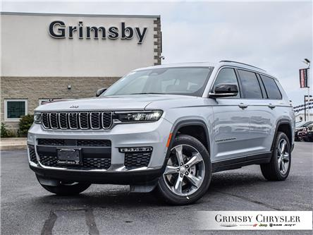 2021 Jeep Grand Cherokee L Limited (Stk: N21243) in Grimsby - Image 1 of 32