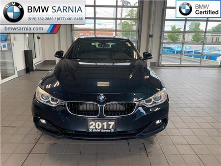 2017 BMW 430i xDrive Gran Coupe (Stk: BU819) in Sarnia - Image 1 of 10