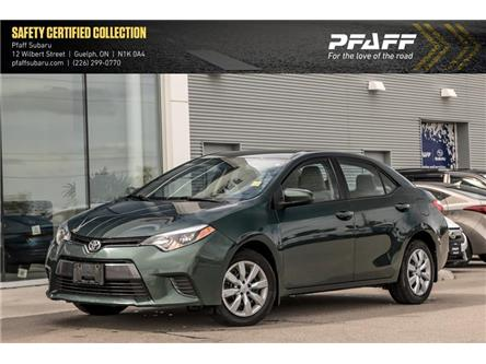 2016 Toyota Corolla CE (Stk: SU0413) in Guelph - Image 1 of 10