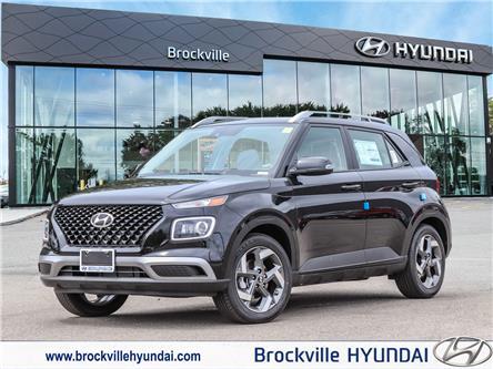 2021 Hyundai Venue Ultimate w/Black Interior (IVT) (Stk: R21341) in Brockville - Image 1 of 24