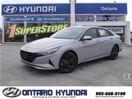 2021 Hyundai Elantra Preferred w/Sun & Tech Pkg (Stk: 13-140440) in Whitby - Image 1 of 21