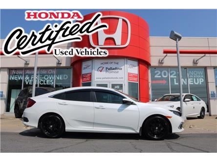 2020 Honda Civic LX (Stk: U10044A) in Greater Sudbury - Image 1 of 31