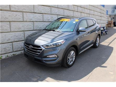 2018 Hyundai Tucson SE, Heated Leather seats, Moonroof, AC (Stk: D20034A) in Fredericton - Image 1 of 18